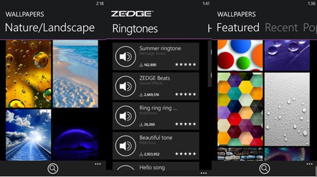 Zedge ringtones and clipart free download.