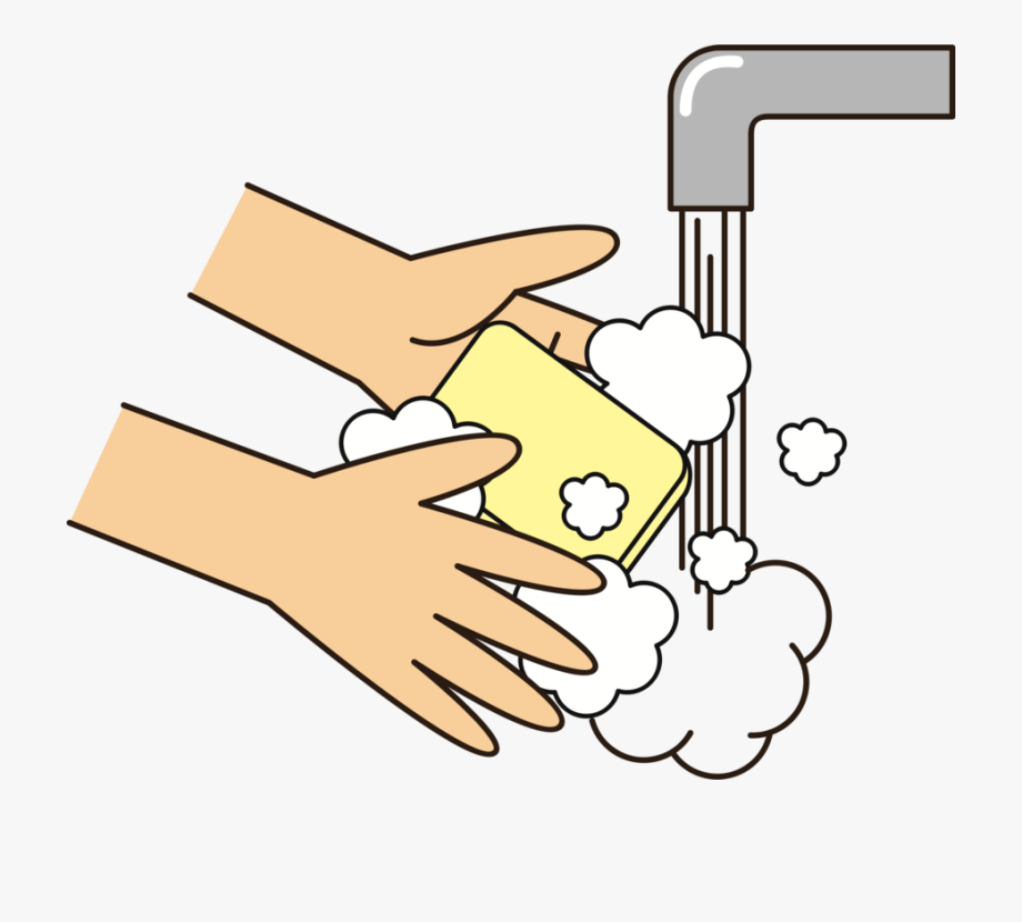 Wash Your Hands Clipart #64145.