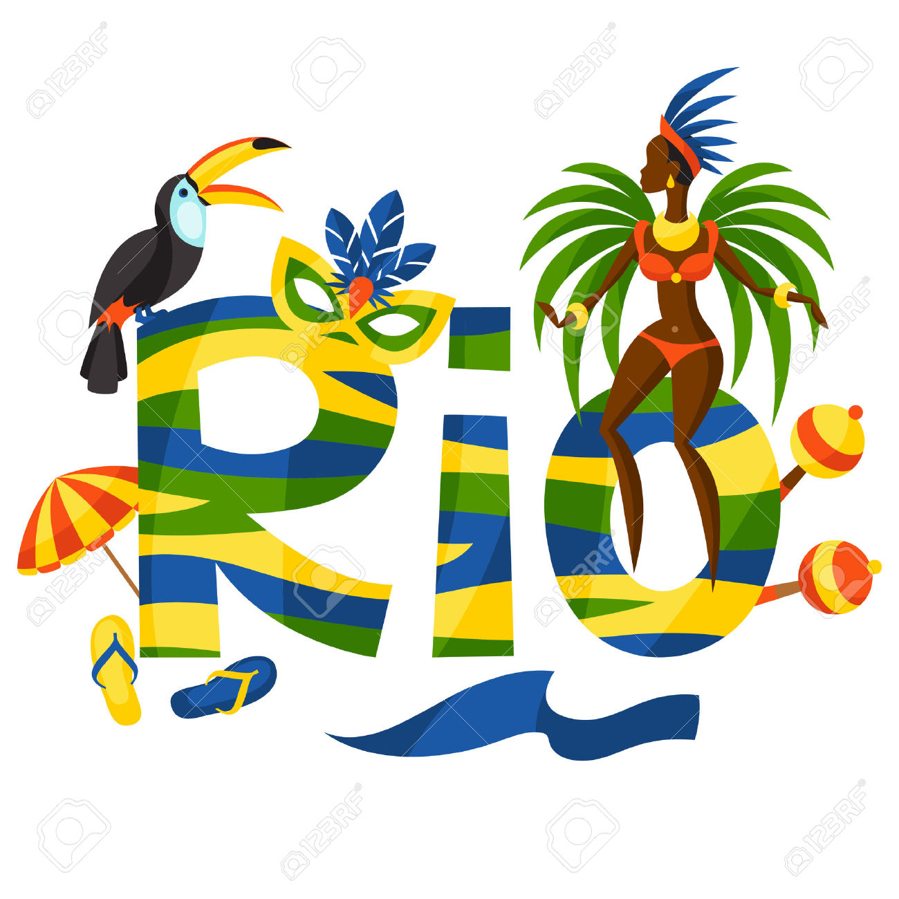 723 Brazilian Beach Stock Illustrations, Cliparts And Royalty Free.
