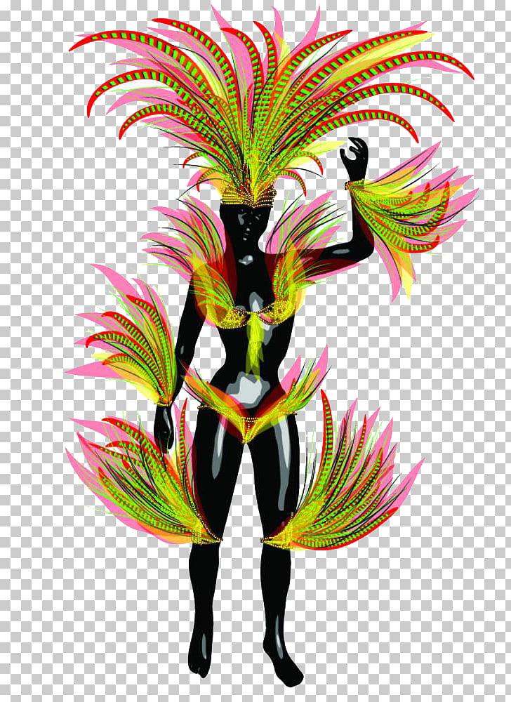 Brazilian Carnival Carnival in Rio de Janeiro, The feathers.