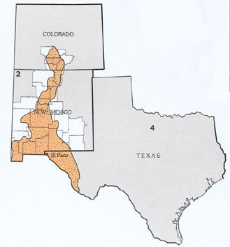 Us Map Rio Grande.