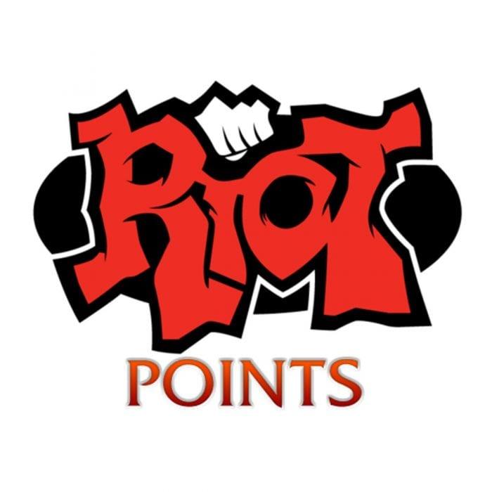 League of Legends Riot Points Prepaid Code/Card [EUW/EUNE SERVERS ONLY].