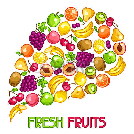 66,447 Ripe Fruits Stock Vector Illustration And Royalty Free Ripe.