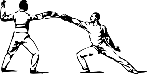 Fencing Clip Art at Clker.com.