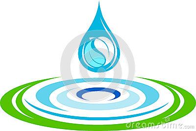 Rings Water Ripple Ripple Water Stock Illustrations.