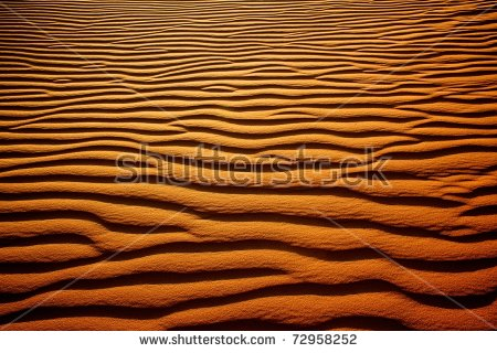 Rippled Sand Stock Images, Royalty.