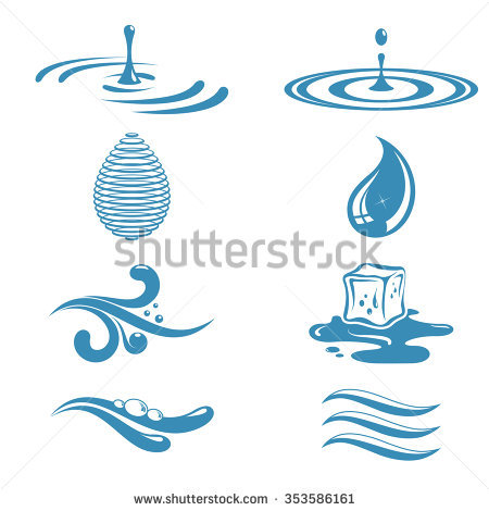 Ripples Stock Images, Royalty.
