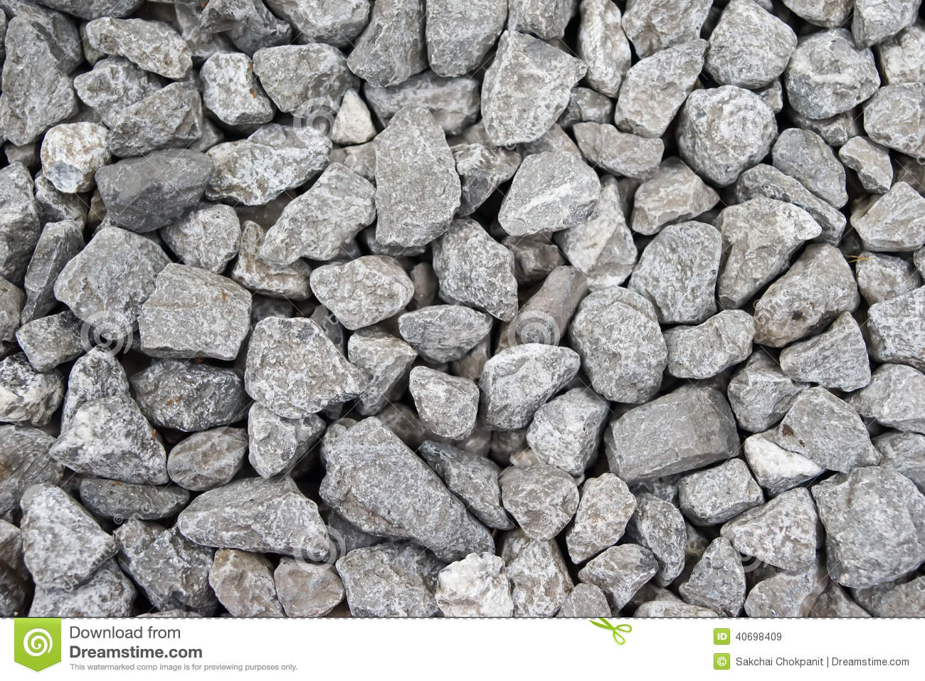 Gravel Background Stock Images.