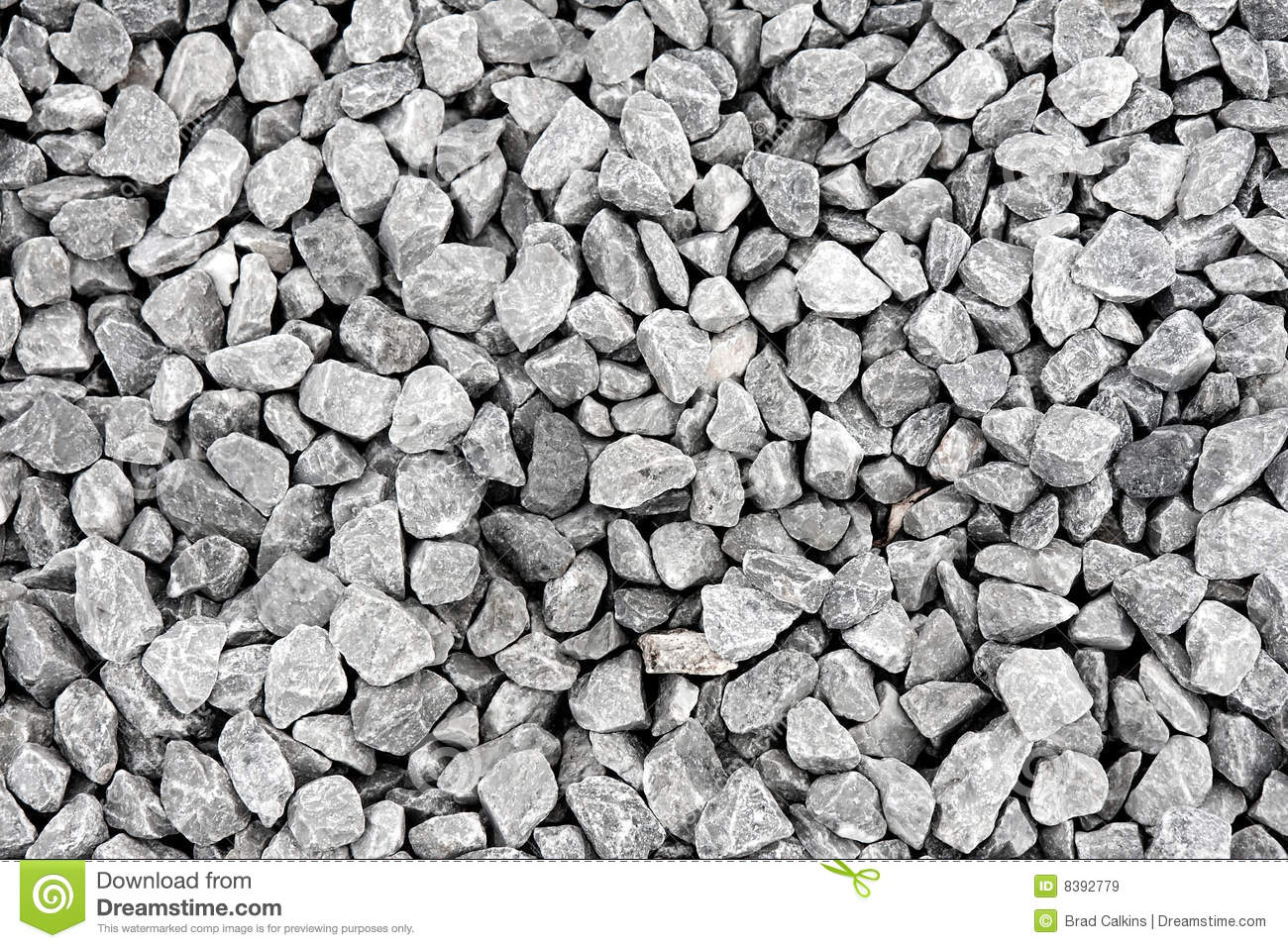 Crushed Rock Royalty Free Stock Images.