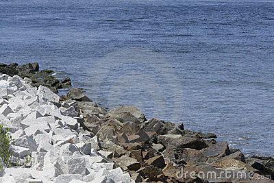 Riprap Stock Photos, Images, & Pictures.