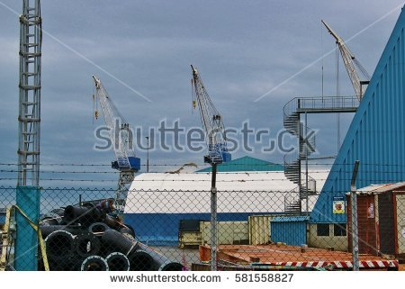 Shipyard Stock Images, Royalty.