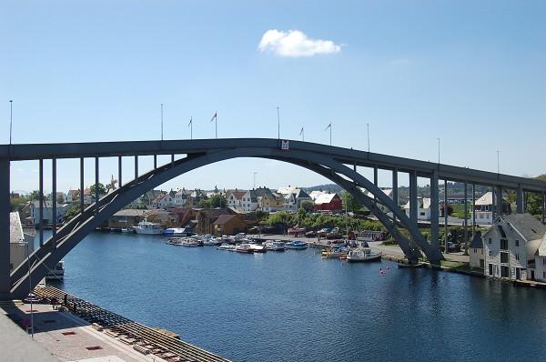 Risøy Bridge (Haugesund, 1939).