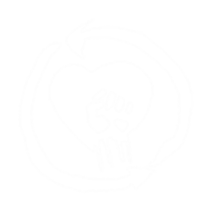 rise against logo white.