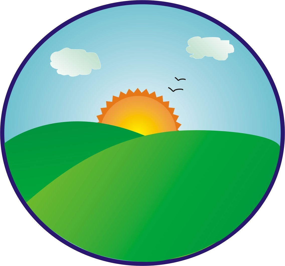 Sun Coming Up Clipart.