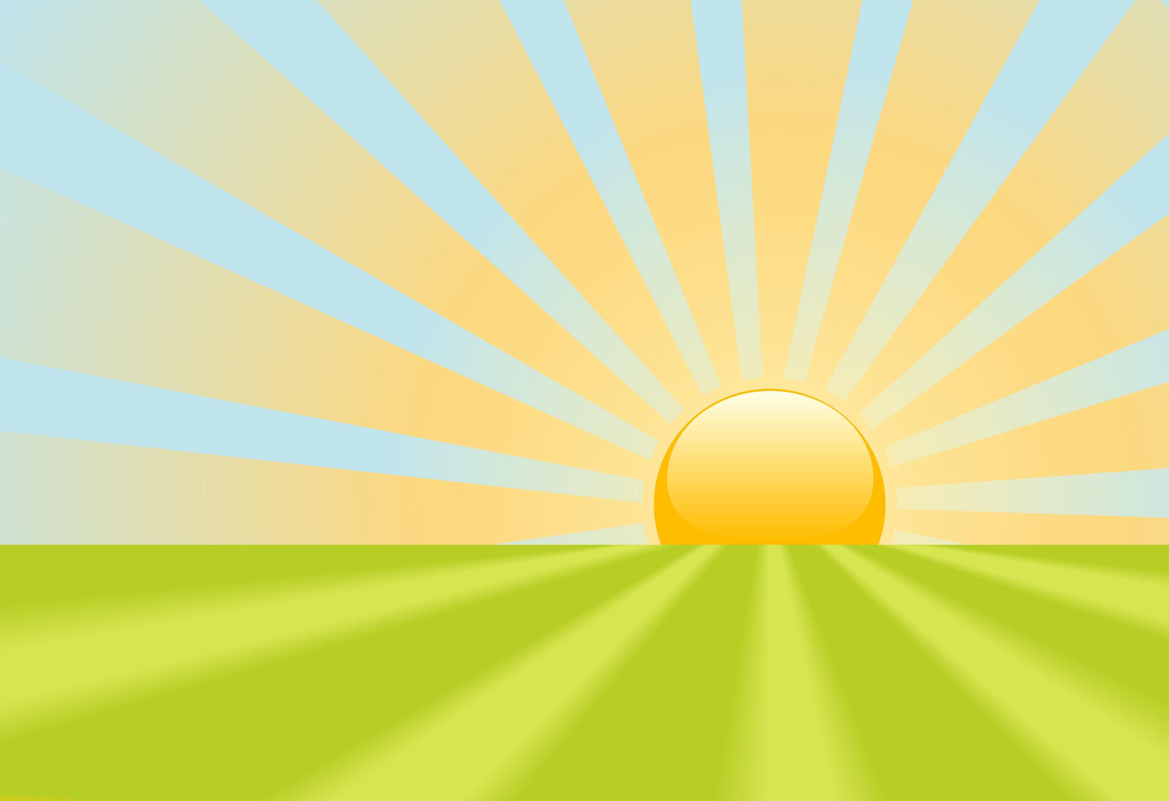 Sun rise clipart hd.