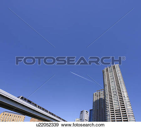 Stock Photograph of Yurikamome and a super.