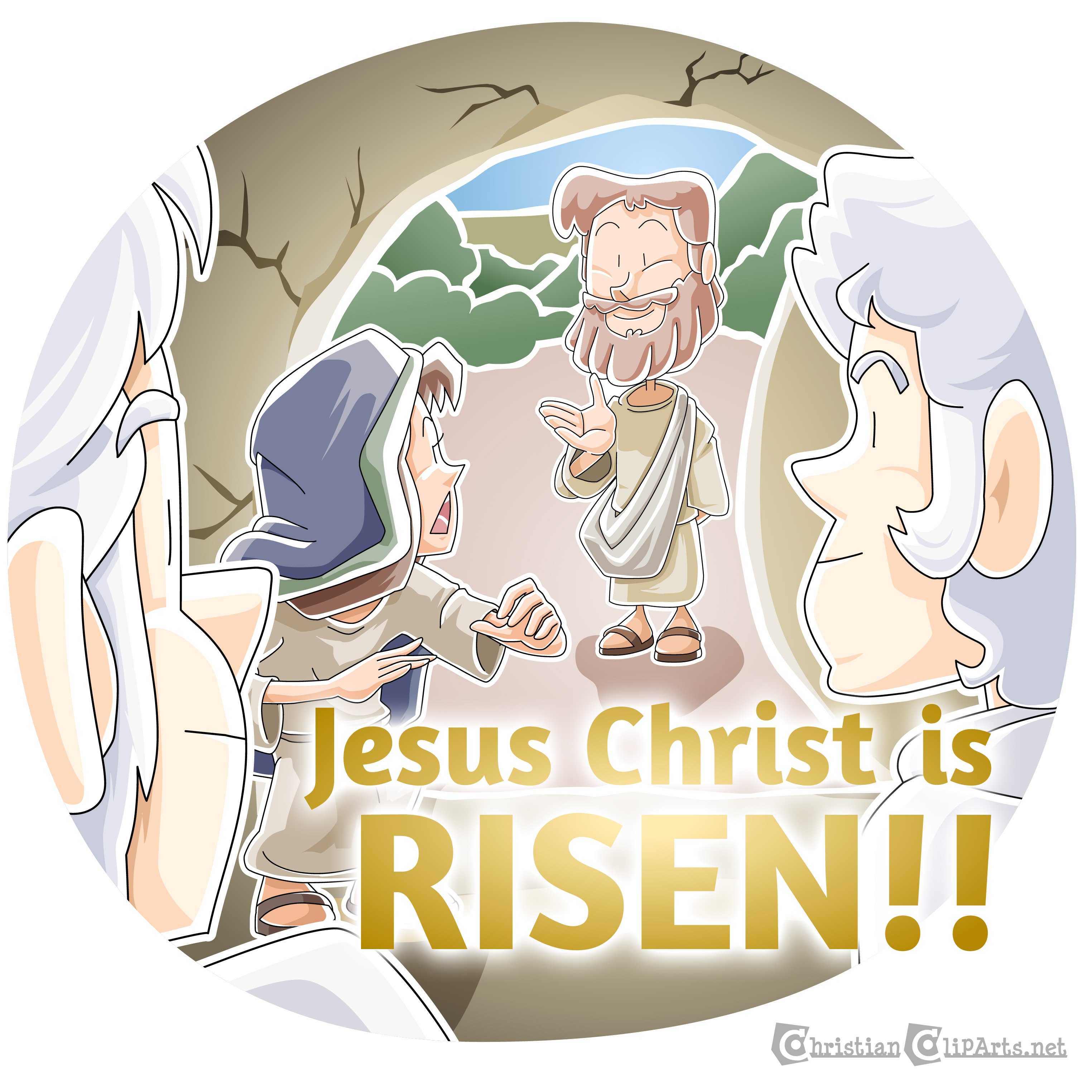 Christian Clip Arts .net blog: Today's Christian Clipart: Jesus.