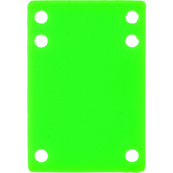 Blank Skateboards Green Single (1) Silcone Riser Pad.