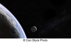 Rising moon in space Clipart and Stock Illustrations. 87 Rising.