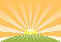 Rising Sun Clipart New.