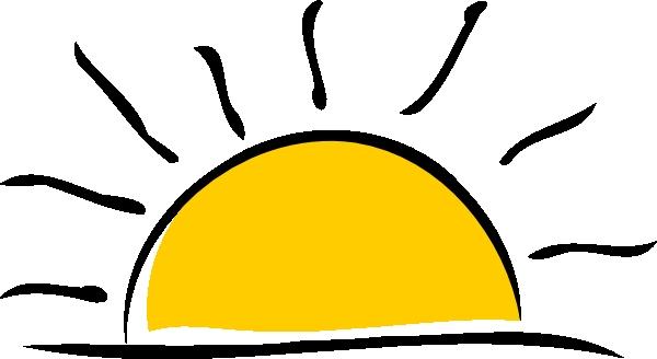 Rising Sun Images Clip Art.