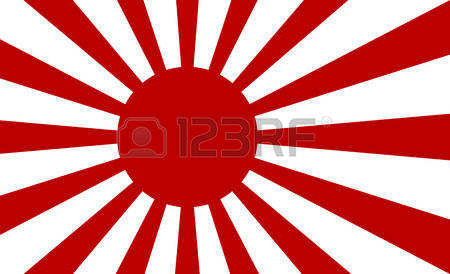 350 Rising Sun Flag Stock Vector Illustration And Royalty Free.