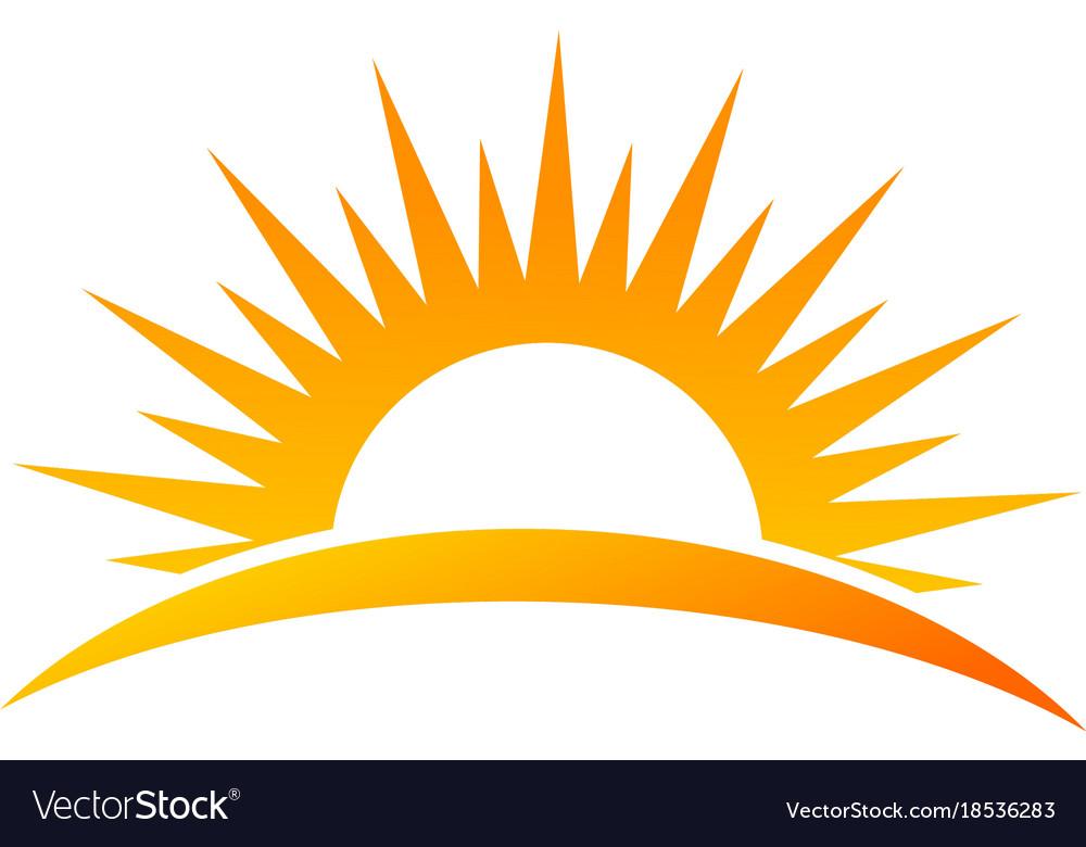 Sun rise logo.