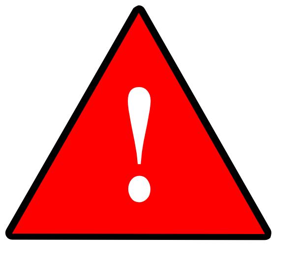1 Severe Risk Solid Red Clip Art at Clker.com.