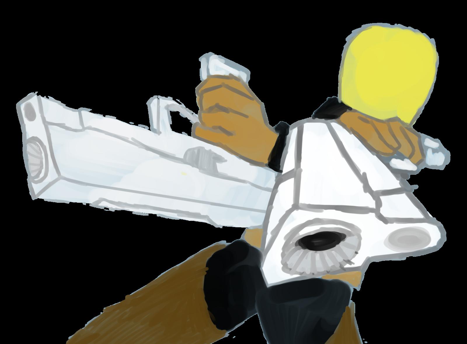 Commando: Risk of Rain Fan Art WIP by HumanoidFern21 on DeviantArt.