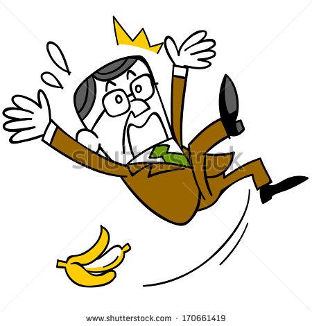 Banana Peel Slip Stock Photos, Royalty.