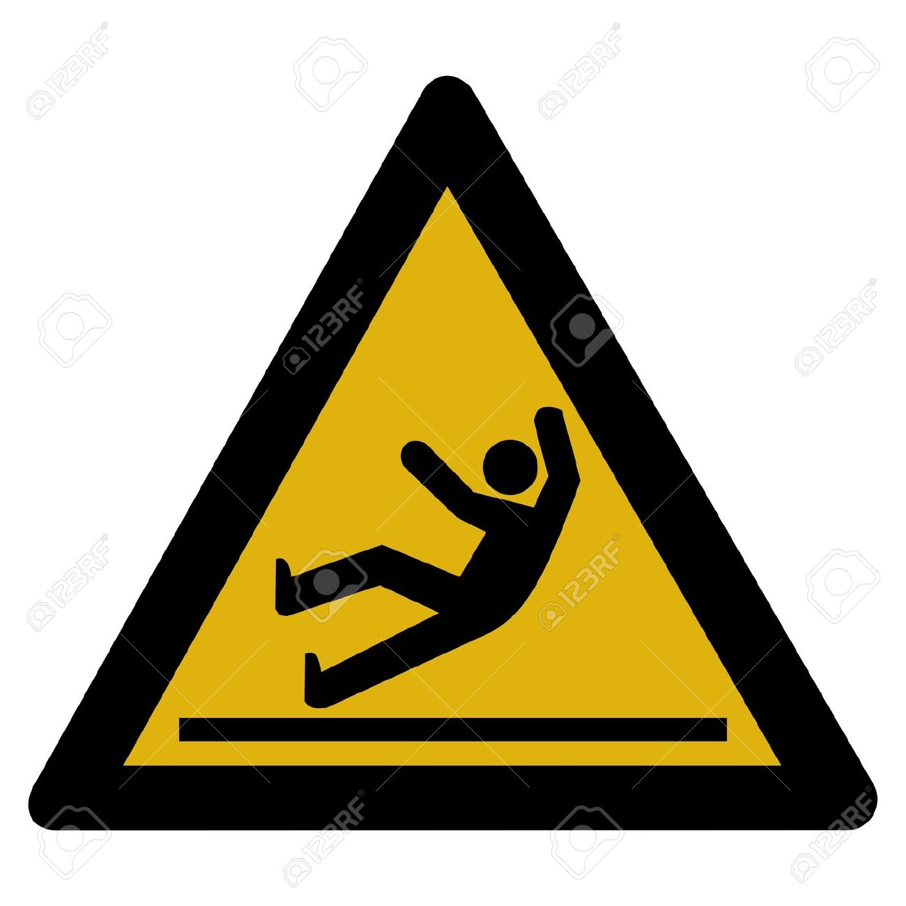 Risk Of Slipping Clipart Clipground