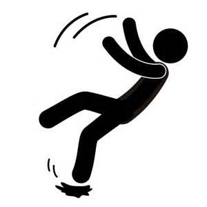 Slip Trip Fall Prevention Clipart.