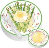 Drawings of Asparagus Risotto asparagus.