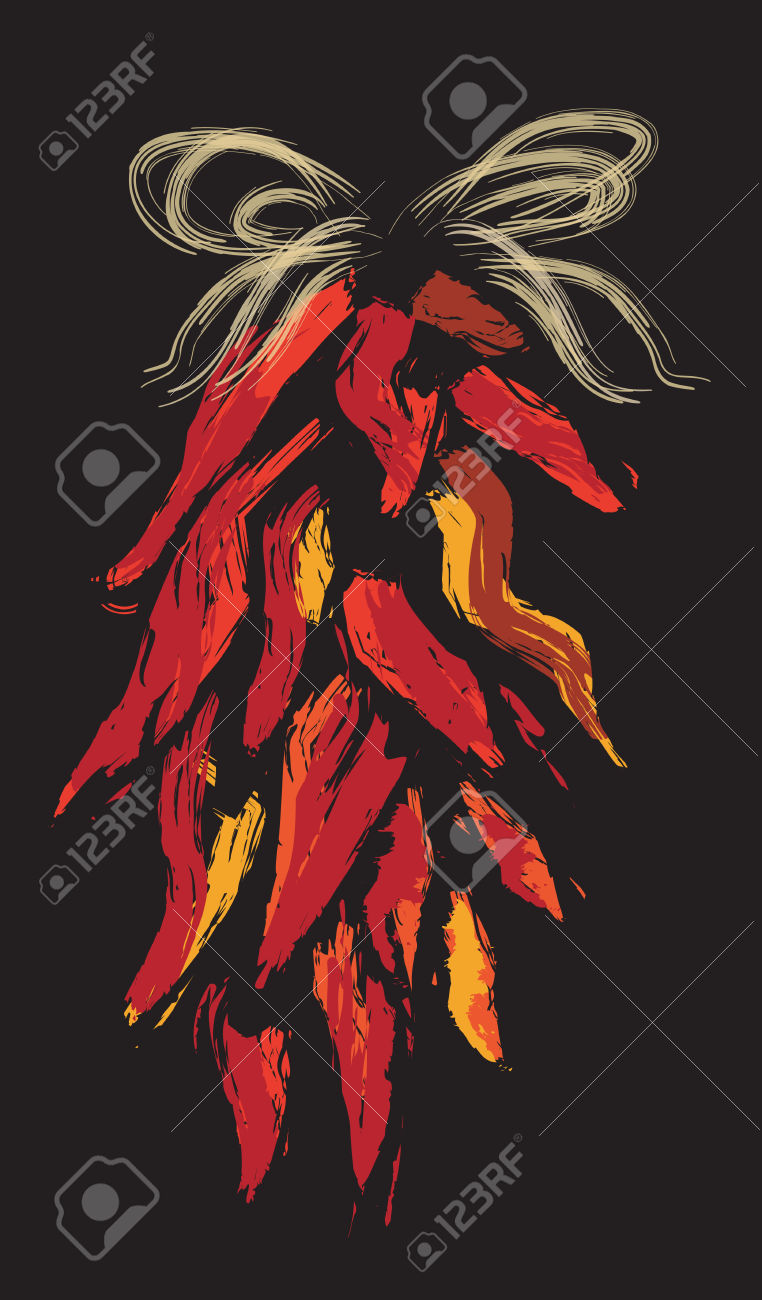 Chile Ristras Royalty Free Cliparts, Vectors, And Stock.