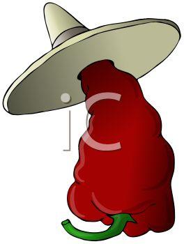 Mexican Chili Ristra Clipart.