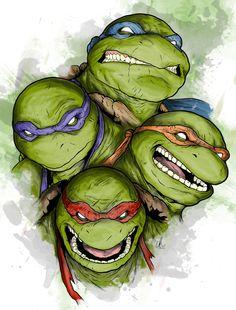 Epic Turtle Clipart.