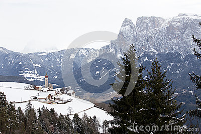 Renon Or Ritten,Bolzano,South Tirol,Italy Stock Photo.