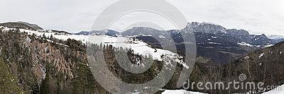 Renon Or Ritten,Bolzano,South Tirol,Italy Stock Photo.