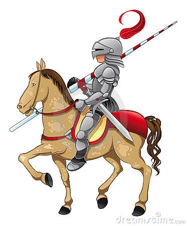 Knight Stock Illustrations.