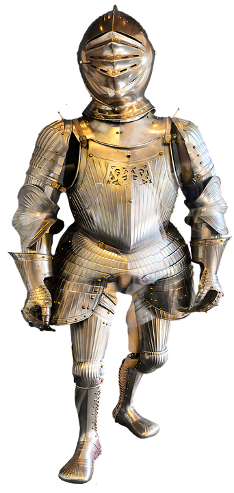 Free photo Metal Armor Knight Middle Ages Ritterruestung.