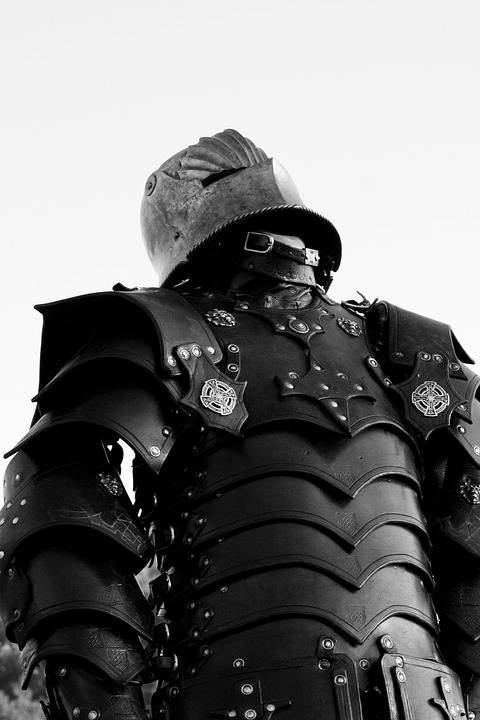 Free photo Middle Ages Knight Historically Ritterruestung.