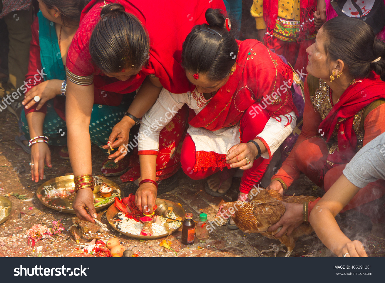 Bhaktapur Nepal April 13 2016 Newar Stock Photo 405391381.