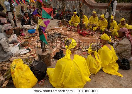 Kathmandunepalmarch 15 Sadhu Pashupatinath Temple Kathmandu Stock.