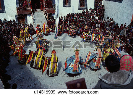 Stock Photograph of traditional clothing, scenery, Kathmandu.