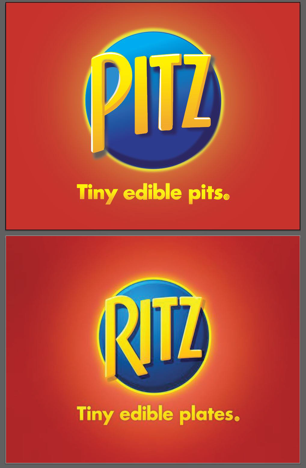 Logo Satire Project with Ritz Crackers. on Behance.