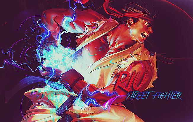 DeviantArt: More Like Riu ~ street fighter by dierous.