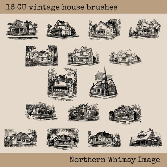 Arthouse Vintage Clipart.