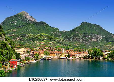 Picture of the city of Riva del Garda,Italy k10256637.