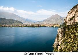 Stock Photos of the city of Riva del Garda,Italy.