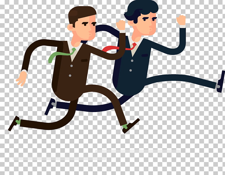 Competition Cartoon Animation, rivalry PNG clipart.